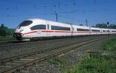 403 036  Rottendorf  07.05.18 (w. + h. brutzer) Tags: rottendorf eisenbahn eisenbahnen train trains deutschland germany ice railway zug db 403 webru analog nikon triebzug triebzüge