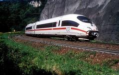 403 060  Geislinger Steige  06.09.10 (w. + h. brutzer) Tags: geislingersteige eisenbahn eisenbahnen train trains deutschland germany ice railway zug db 403 webru analog nikon triebzug triebzüge