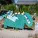 Trash Monster on Jetty Island