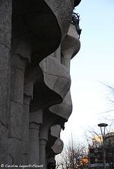 Barcelona - Sand and Stone (Caroline Forest Images) Tags: spain barcelona catalunya travel europe city cityscape architecture passeigdegracia gaudi antoniogaudi lapedrera casamilà
