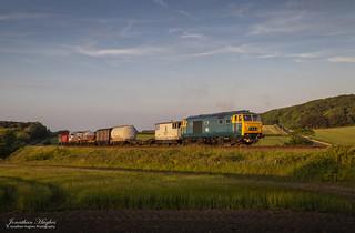 Summer evening freight