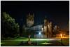 Buckfast Abbey (1) (mdsphotoimages1) Tags: abbey sky stars gras lights trees stone