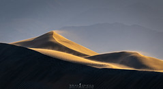 Shifting Sands (ihikesandiego) Tags: death valley mesquite sand dunes sunset desert