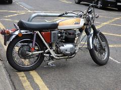 BSA Motorcycle - Mill Lane, Solihull (ell brown) Tags: solihull westmidlands england unitedkingdom greatbritain mellsquare millln milllane bsa motorbike motorcycle
