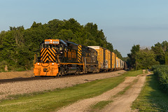Fresh Tiger on 237 (Nolan Majcher) Tags: we wle wheeling lake erie emd sd402 7005 lodi oh ohio train 237