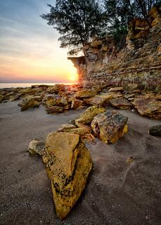 Dudley's Sunset, Darwin