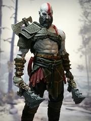 The God of War (kevchan1103) Tags: neca god war blades chaos mod kratos ps4 godofwar toys action figures custom