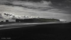 Black sand beach (Dani Maier) Tags: iceland seascape beach black sand