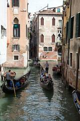A romantic gondola trip? (Chris Firth of Wakey.) Tags: venice gondola italy