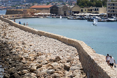 The walk to the lighthouse - Chania Harbour (Splat Photo) Tags: lighthouse walk long venetien harbour stone wall crete greece chania sony a7m3 a7iii sel24105g 24105 fe24105f4 ilce7m3
