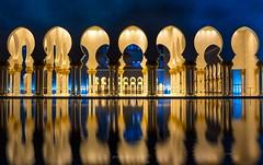 Reflections (go-Foto) Tags: abu dhabi sheik zhayed mosque