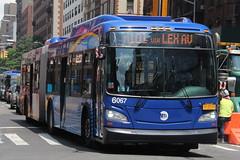 IMG_9336 (GojiMet86) Tags: mta nyc new york city bus buses 2017 xd60 6067 m101 lexington avenue 86th street