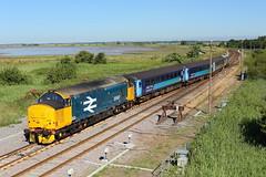 37407 / 37409 Great Yarmouth (NB Railways) Tags: drs greateranglia 37407 ee englishelectric class37 anglia eastanglia norfolk greatyarmouth 2p12
