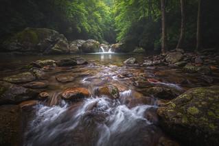 Cool Rush, Midnight Hole, Big Creek, Great Smoky Mountains, North Carolina