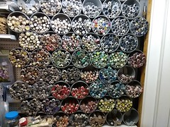 IMG_20180712_123445622 buttons display at La Galerie shopping plaza, Carcassonne, Aude, Occitanie, France : 12 Jul 2018 (Ted and Jemima) Tags: buttons display lagalerie carcassonne aude occitanie languedoc france
