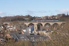 Durham (Neil Pulling) Tags: durham city england countydurham rooftops uk cityscape durhamviaduct train eastcoastmainline