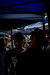 DSCF9597 (lukmanism) Tags: fujifilm helios442 lensturbo2 kualaklawang negerisembilan malaysia streetphotoghraphy silhouette vintagelens pasartani market sunrise muziumadat