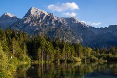 Im Licht der Abendsonne (ANVOTO) Tags: landscape landschaft orte almsee austria berge oberösterreich salzkammergut alpen wasser