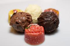 Truffle #12 (*Amanda Richards) Tags: edible truffles chocolate reminiscencegycom treat food ganache fruit milkchocolate darkchocolate whitechocolate