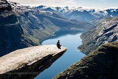 Trolltunga (ElginCon) Tags: ifttt 500px trolltunga landscape norway nature scenery hardanger lake mountains norwegian sweater hiking majestic earthporn
