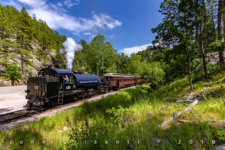 Steam in the Black Hills