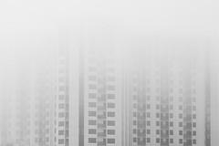 shrouded (eb78) Tags: bw blackandwhite monochrome greyscale grayscale ca california emeryville fog eastbay explore