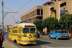SFMTA 1057 (Davuz95) Tags: tram trolley railcars san francisco service f e muni fisherman wharf sfmta