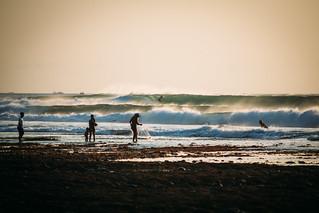 perfect surf at Balangan beach, Bali