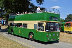 HOR590E (PD3.) Tags: king alfred winchester leyland atlantean roe open top topper topless bus buses psv pcv hampshire hants england uk alton anstey park mid railway watercressline water cress line preserved vintage 15 07 2018 july rally running day