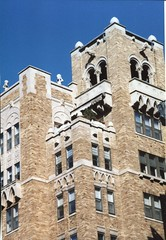 Washington DC - Atlantis Apartments - Architecture Beaux Arts (Onasill ~ Bill Badzo) Tags: atlantis condo apartments washington dc historic nrhp gothic style architecture atlas statues beaux arts onasil old vintage photo