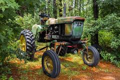 JOHN DEERE (Derek Green) Tags: antique machine equipment johndeere southcarolina grass tree wood