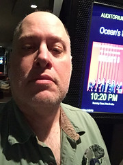 "Day 2348: Day 158: After ""Ocean's"" (knoopie) Tags: 2018 june iphone picturemail ipictheater movie oceans8 doug knoop knoopie me selfportrait 365days 365daysyear7 year7 365more day2348 day158"