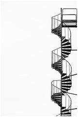 180410 020web (Marteric) Tags: borås stair stairs stairway bw black white negative space negativespace