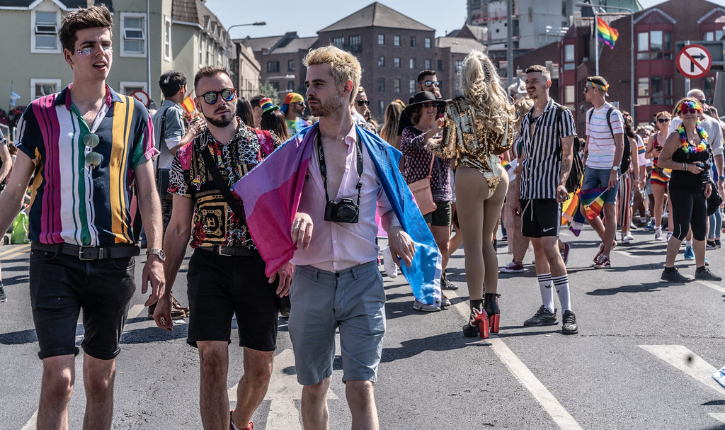 ABOUT SIXTY THOUSAND TOOK PART IN THE DUBLIN LGBTI+ PARADE TODAY[ SATURDAY 30 JUNE 2018] X-100028