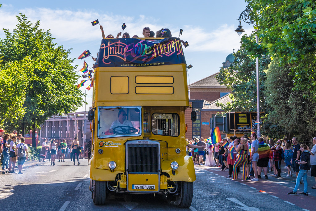 ABOUT SIXTY THOUSAND TOOK PART IN THE DUBLIN LGBTI+ PARADE TODAY[ SATURDAY 30 JUNE 2018] X-100141