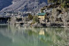 Jaca, Spain (Ceci Gomar) Tags: jaca spain lake winter house mountains