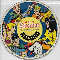 The Archies-Cereal Box Record From Post Super Sugar Crisps And Alpha Bits ( 1969 ) (Donald Deveau) Tags: thearchies record paper work cerealpremium postsupersugarcrisps