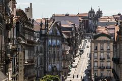 Porto, Portugal (Adrià Páez) Tags: porto portugal iberian peninsula city street buildings architecture windows balconies slope historical europe canon eos 7d mark ii road roofs