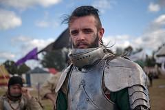 Winterfest  Medieval Fair 18 (l plater) Tags: winterfestsydneymedievalfair2018 clarendon carmour medievalcostume knightinshiningarmour