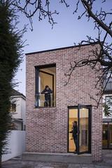 Architectural Farm _ Stiles Road _ Dublin _ 2018 _ Dusk (SteMurray) Tags: approved stiles road clontarf extension architecture farm ireland irish ste murray steie stemurray domestic project brick tower