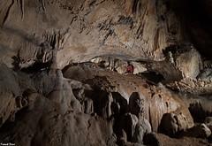 Daniel dans la Galerie supérieure de la Grotte de Beaumotte les Pins (francky25) Tags: daniel dans la galerie supérieure de grotte beaumotte les pins franchecomté haute saone karst
