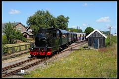 SHM-26+trein_Wn_08072018 (Dennis Koster) Tags: trein stoomtrein passagierstrein shm personentrein 26 stoomloc wognumnibbixwoud