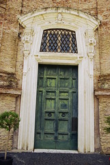 ROMAN DOOR (Vasiman) Tags: door gate city rome roma building architecture pentax pentaxdslr pentaxk10d pentaxlens pentax1855 pentaxart pentaxsmc