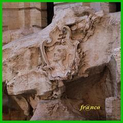 DSC03448 Partic (fr@nco ... 'ntraficatu friscu! (=indaffarato)) Tags: italia italy lazio roma rome fontana trevi particolare