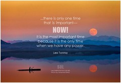 Leo Tolstoy ...there is only one time that is important—Now! It is the most important time because it is the only time when we have any power (symphony of love) Tags: leotolstoy inthemoment liveinthemoment liveinthepresent livinginthemoment livinginthepresent quoteonlivinginthemoment picturequoteoninthemoment quoteoninthemoment mindfulness mindfulliving livingmindfully awareness symphonyoflove sol omrekindlingthelightwithin om quotation quote quoteoftheday quotetoliveby quotes qotd inspirationalquote inspirational inspiringquotes inspiration motivationalquotes motivatingquotes motivation dailymotivation dailyinspiration dailyquote potd picturequote picture pictureoftheday pictures present presentmoment hereandnow here now
