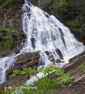 Lower Bertha Falls, Waterton Lakes National Park
