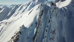Creton du Midi - East Couloir (breedingfra) Tags: snow snowboard freeride bernardo crevacol creton midi sky mountaineering powder winter surf drone