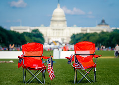 Independence Day, Washington DC (YL168) Tags: chairs red independenceday nationalmall washingtondc