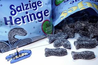 Salzige Heringe angeln - salty sirring fishing