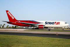 N374AA (Hector A Rivera Valentin) Tags: stratair cargo boeing 767 767300 767300f er san juan international airport tjsj sju northern air nac nac801 miami